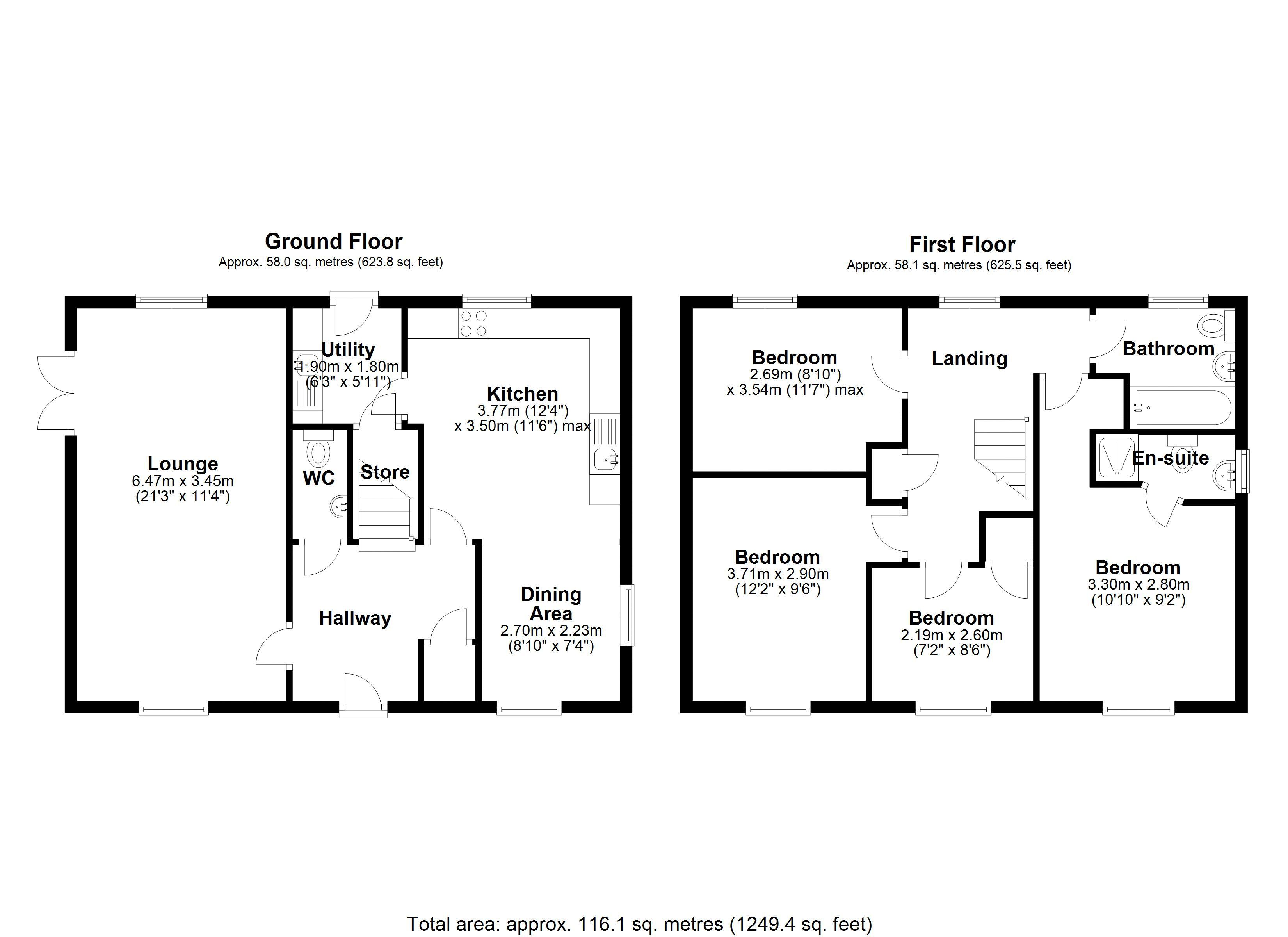 The Tallow main floor plan