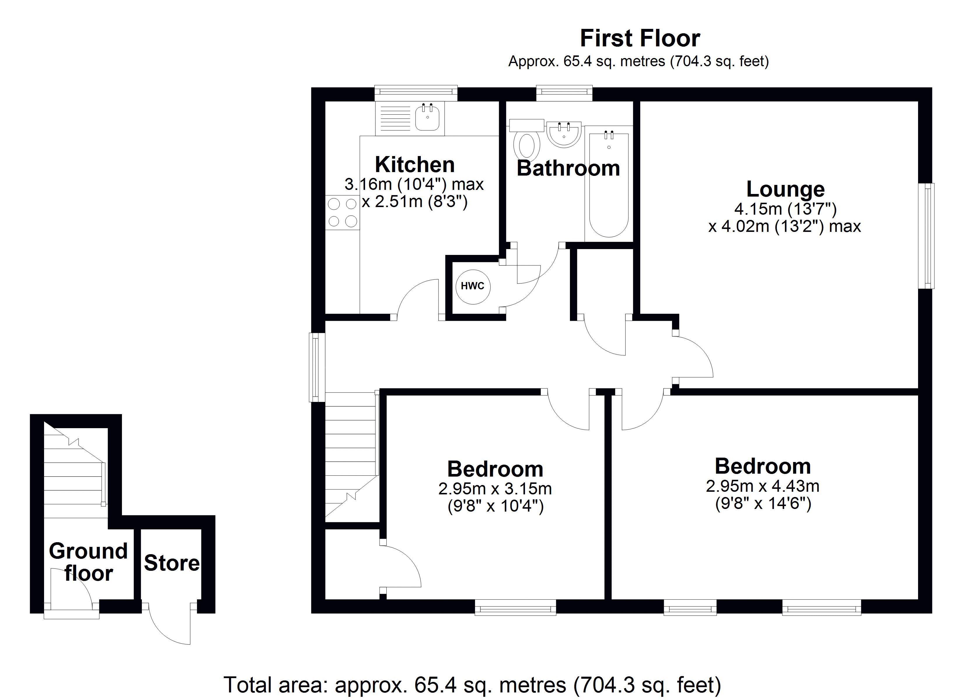117 Saville Floor Plan