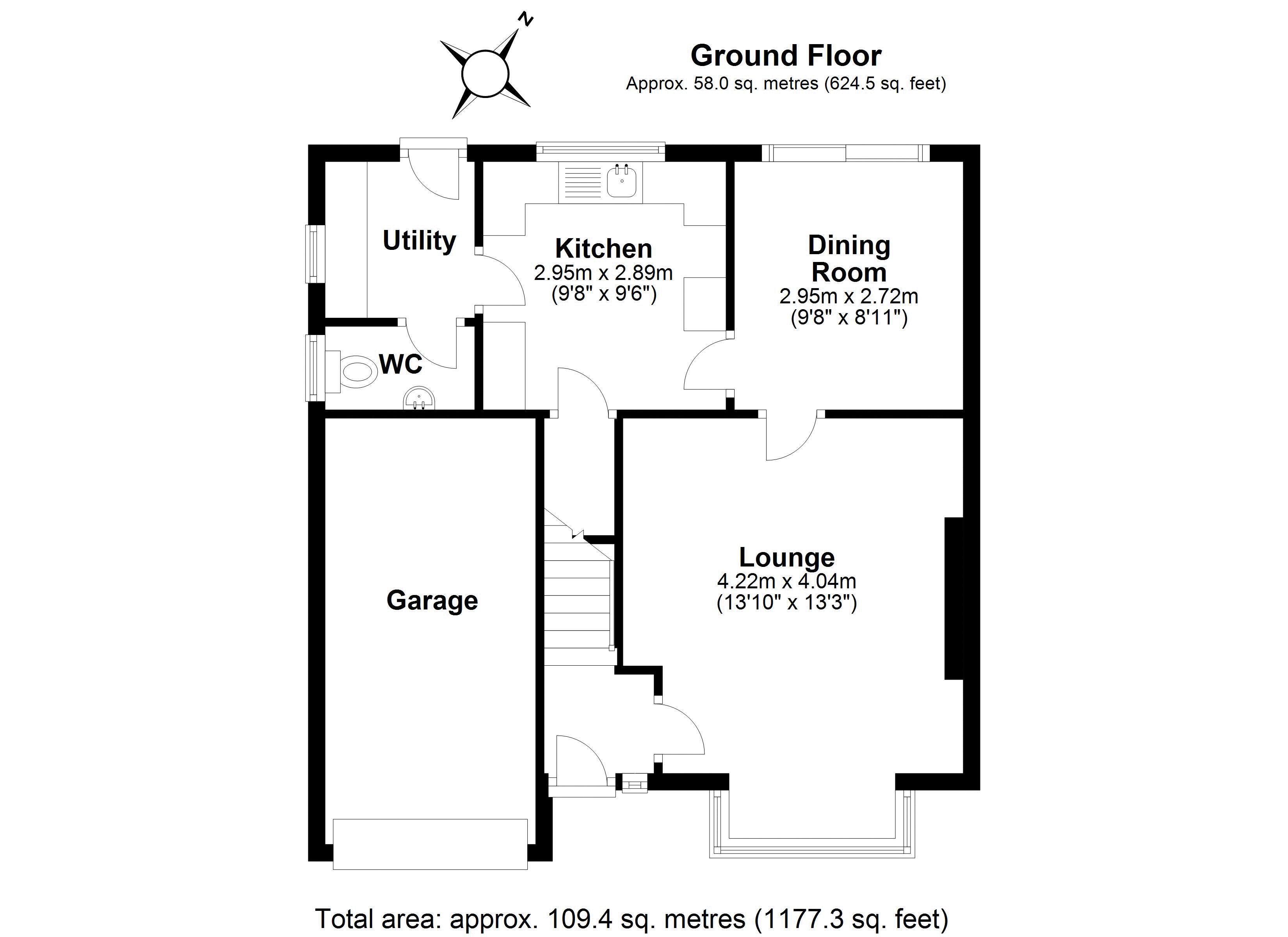 KIngfisher Ground floor plan