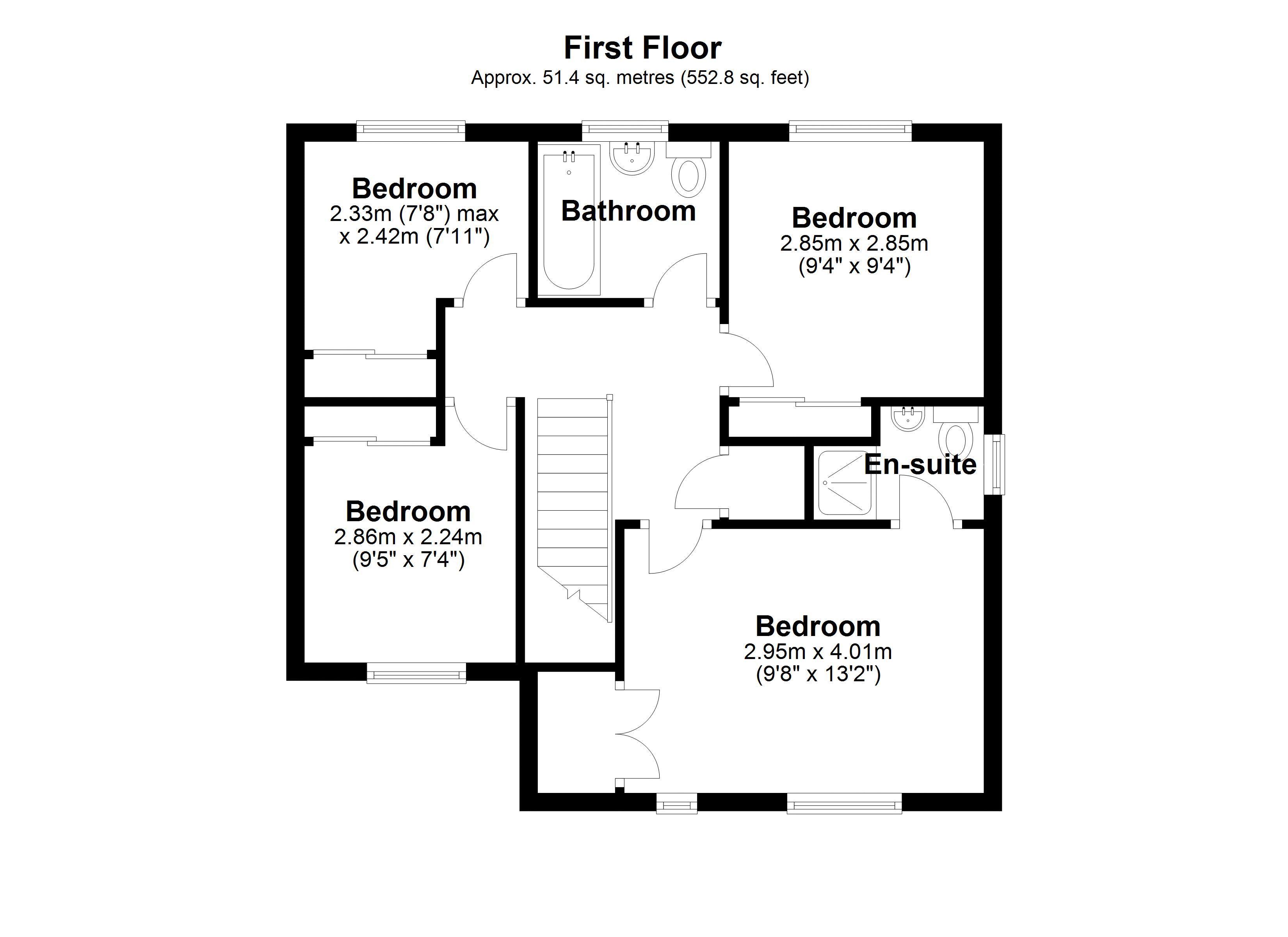 KIngfisher First floor plan