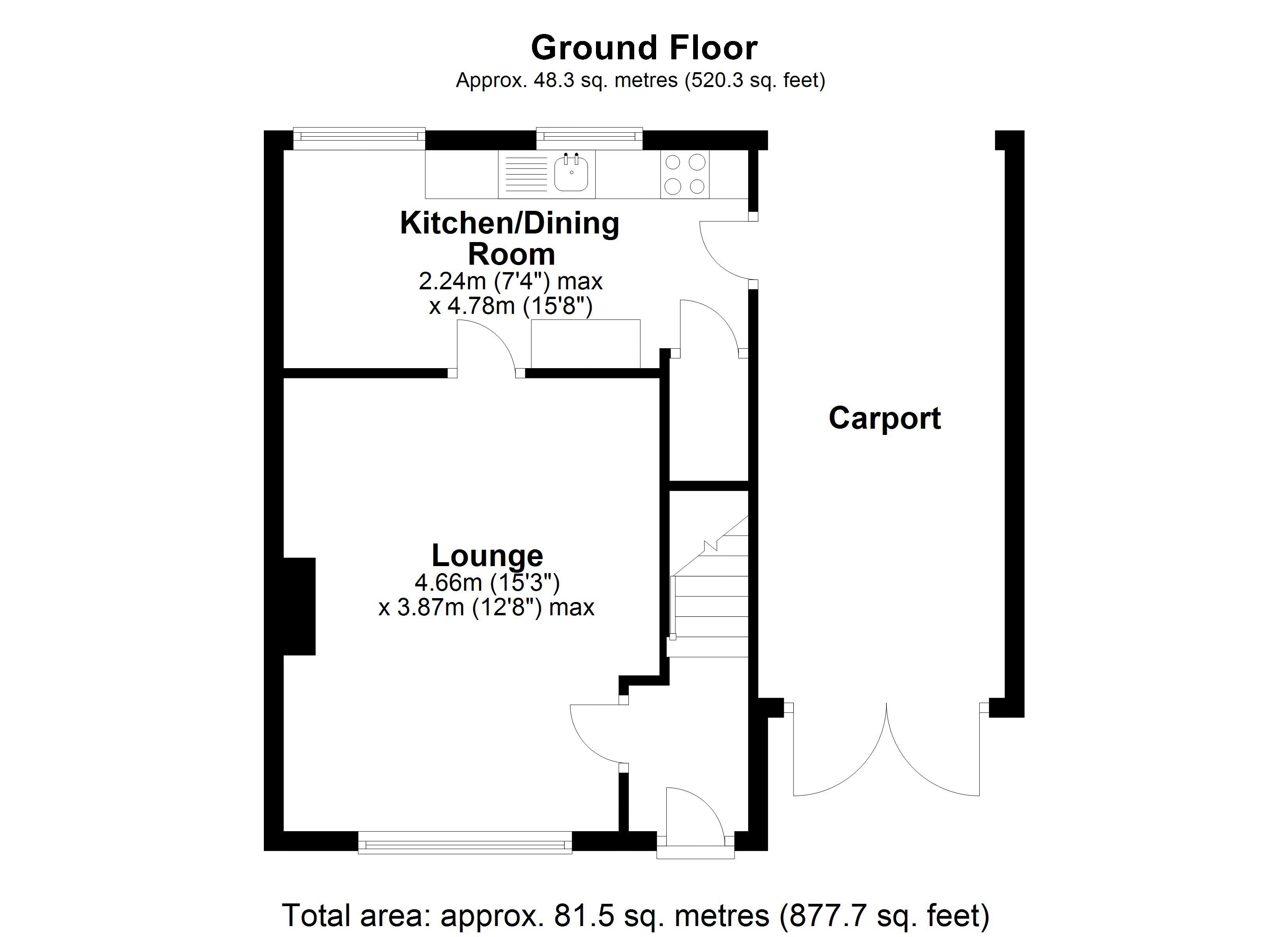 11 Orchard Ground Floor plan