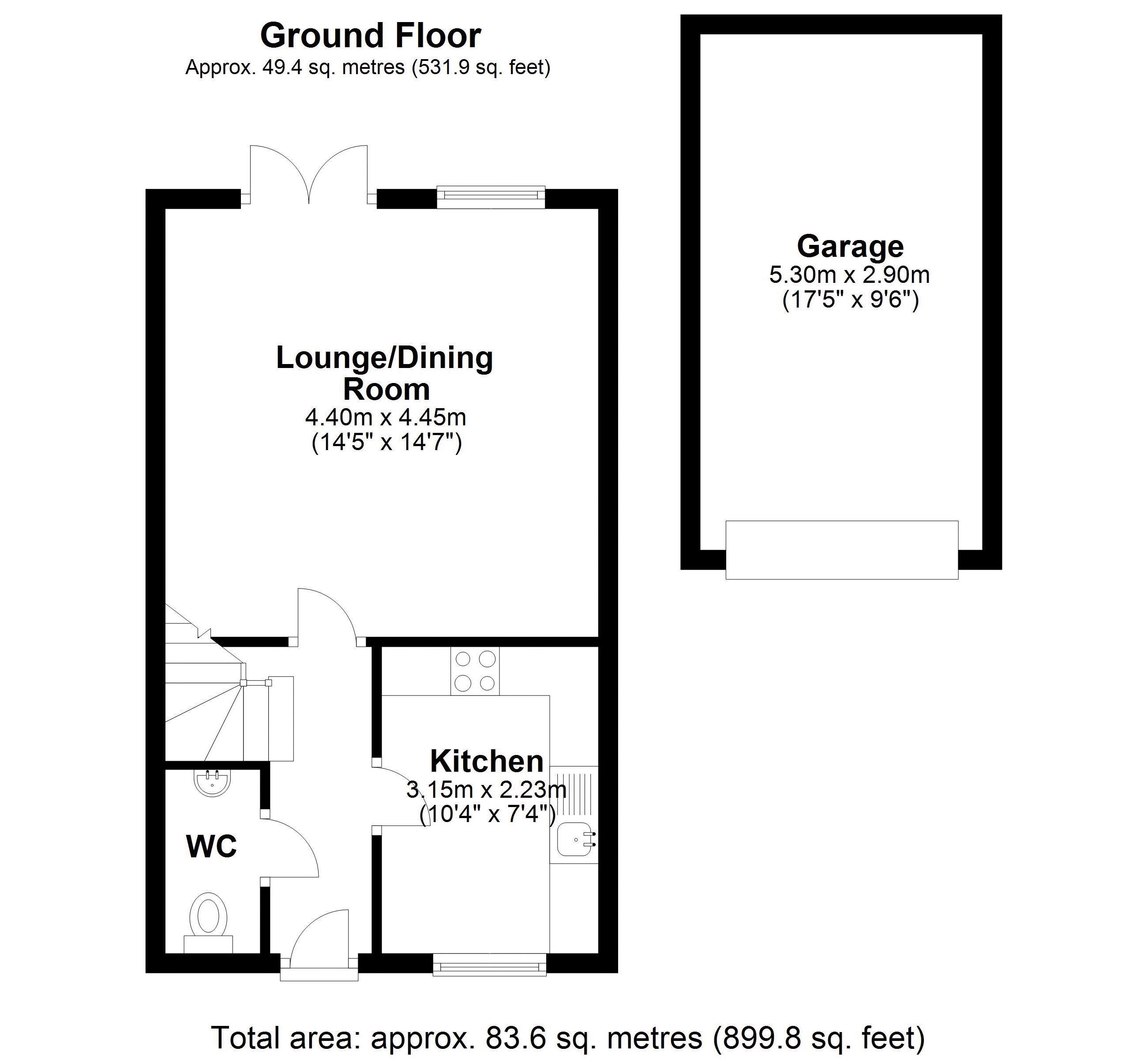 11 Synders Ground floor plan