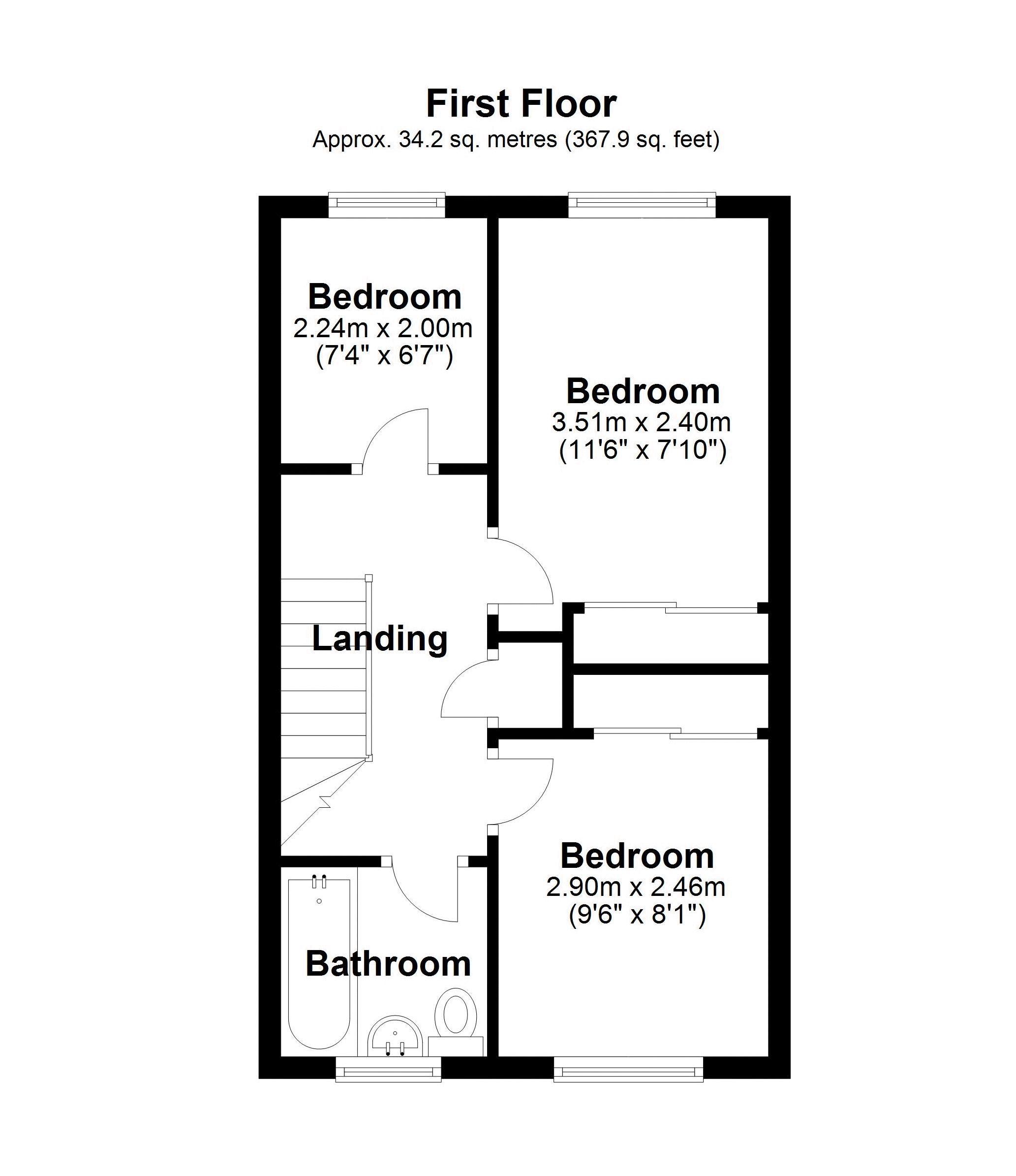 11 Synders First floor plan