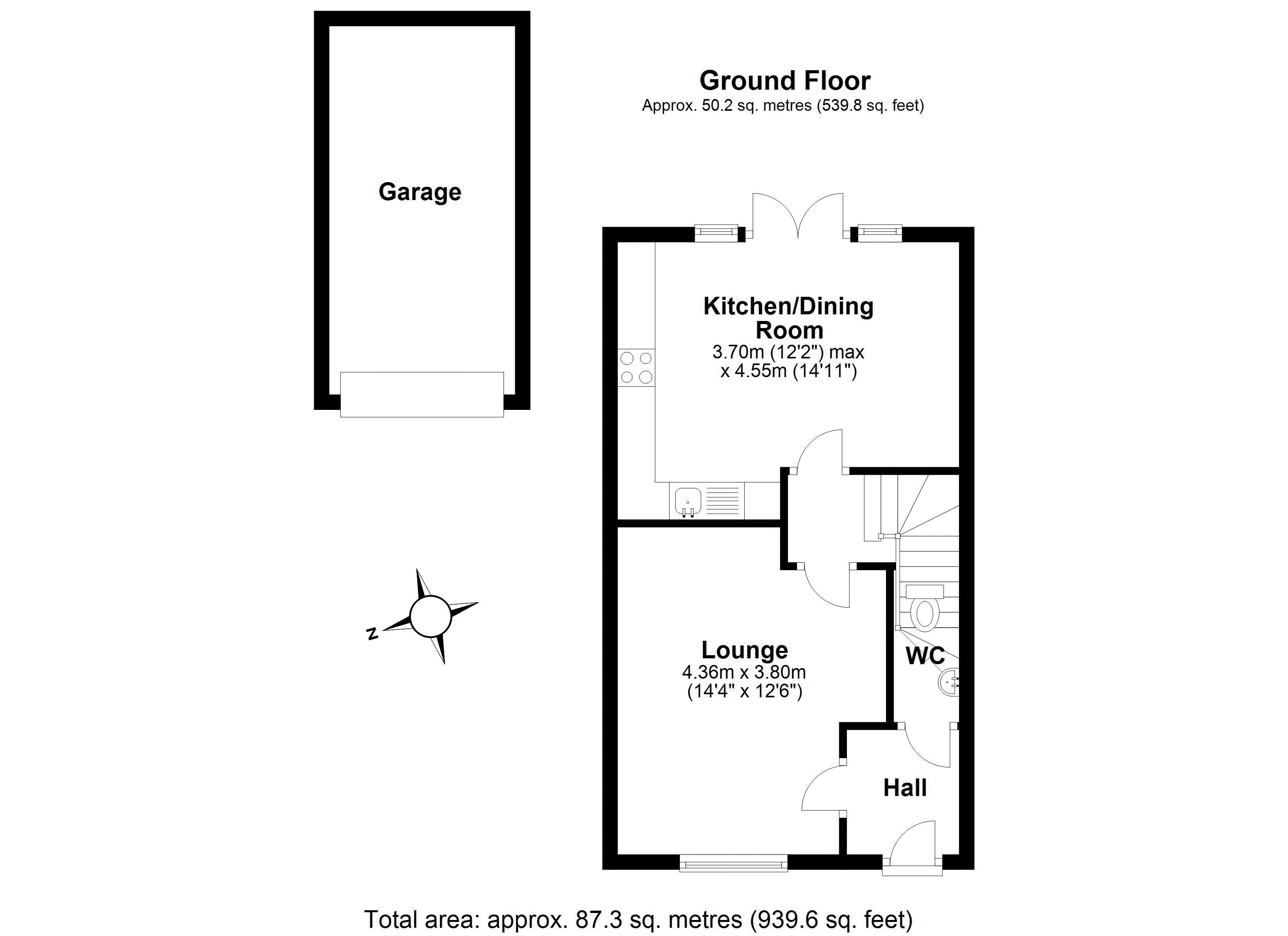 Newdale Holt ground floor plan