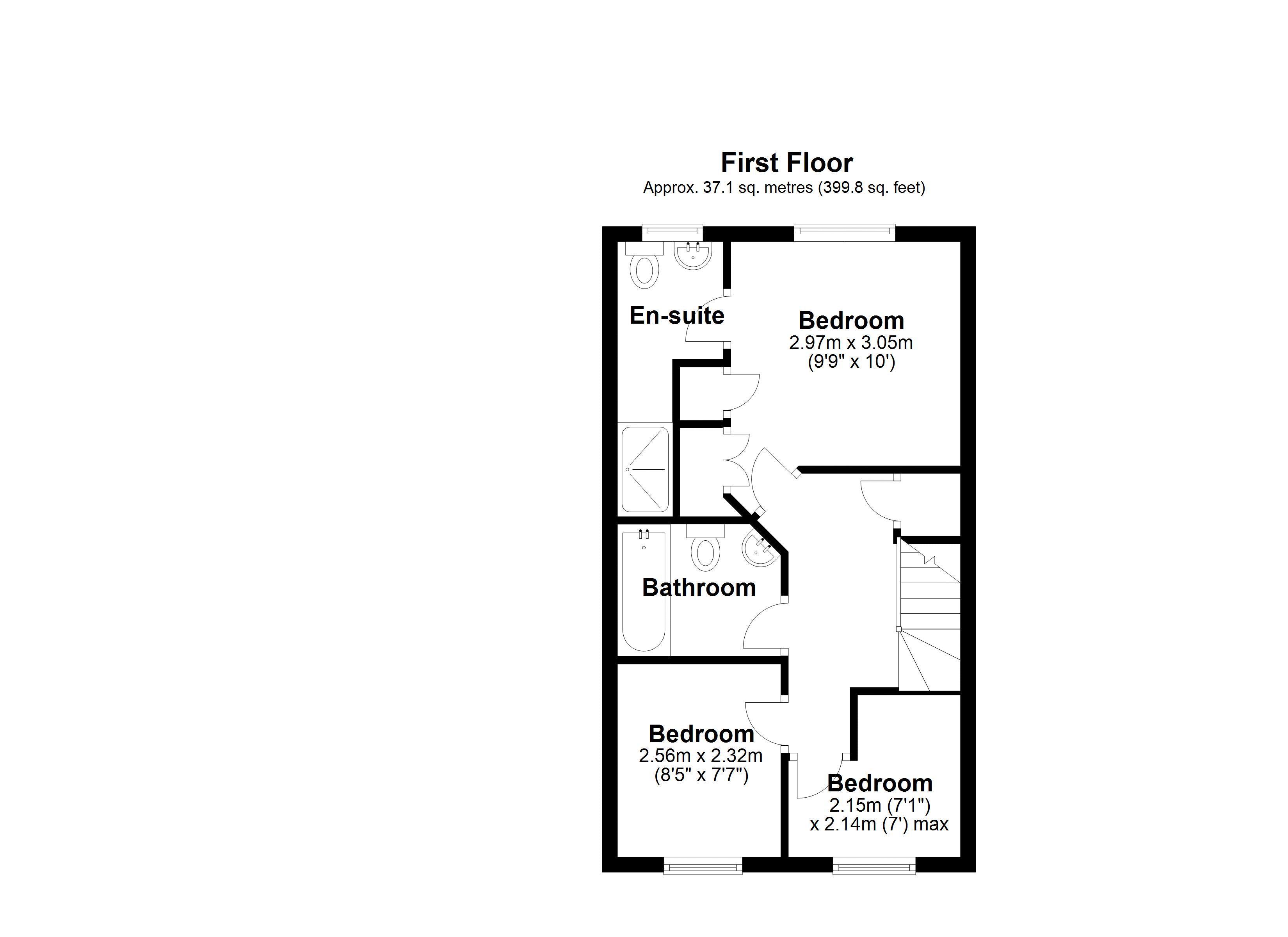 Newdale Holt first floor plan