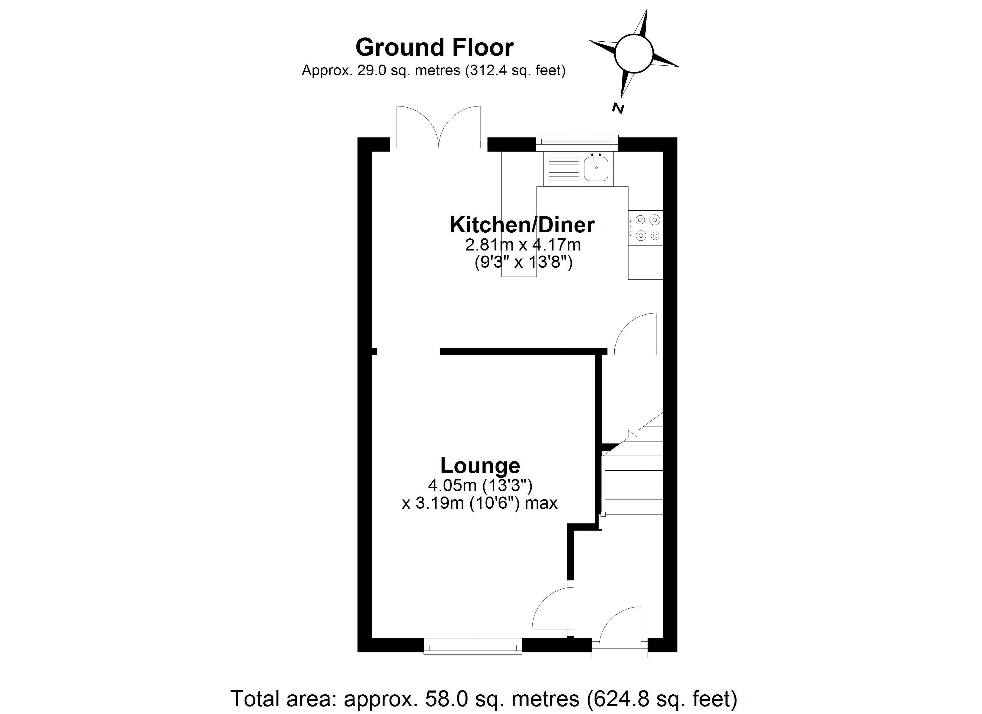 Redwood ground floor plan