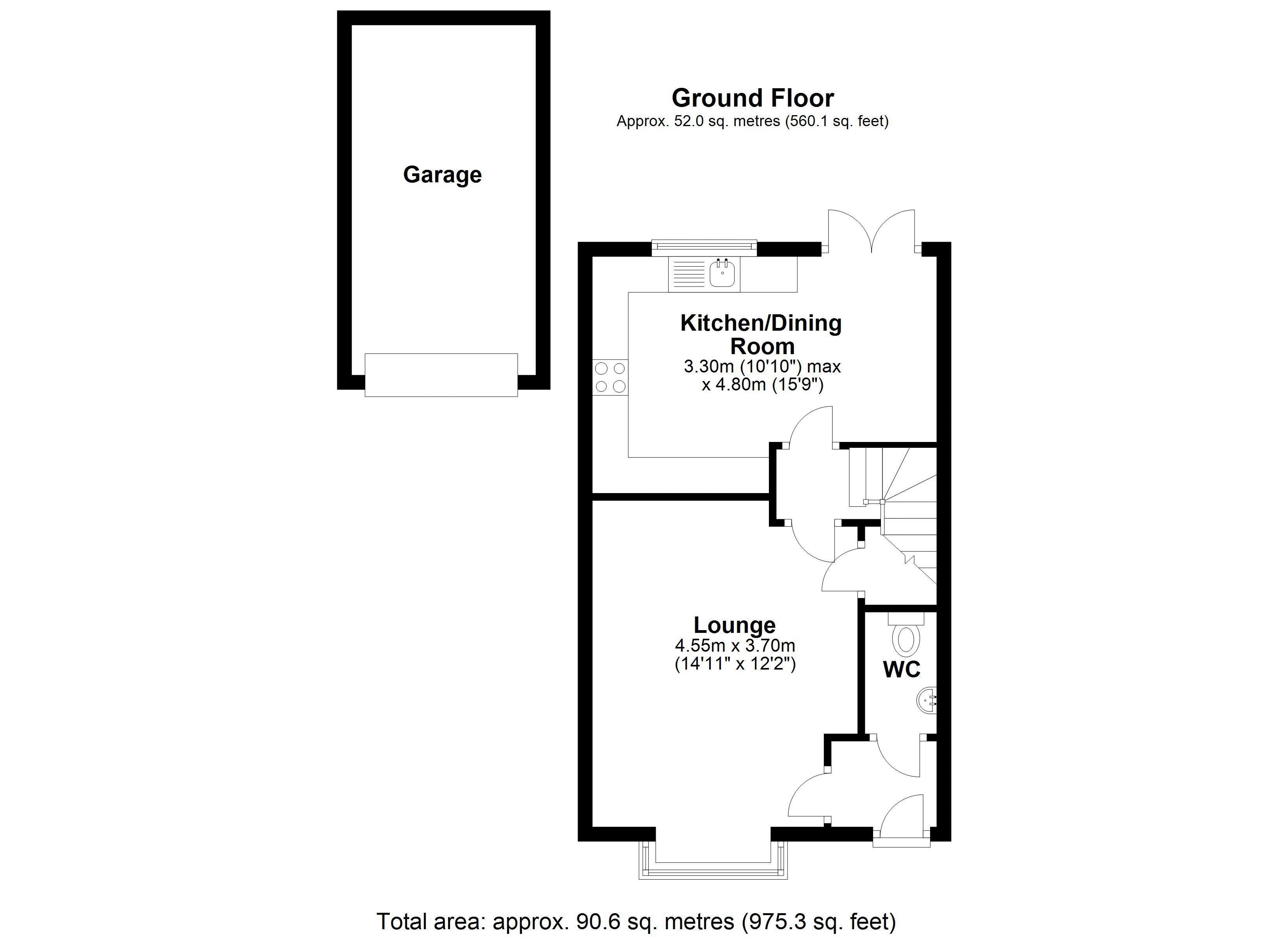 8 Wooding Drive Ground floor plan