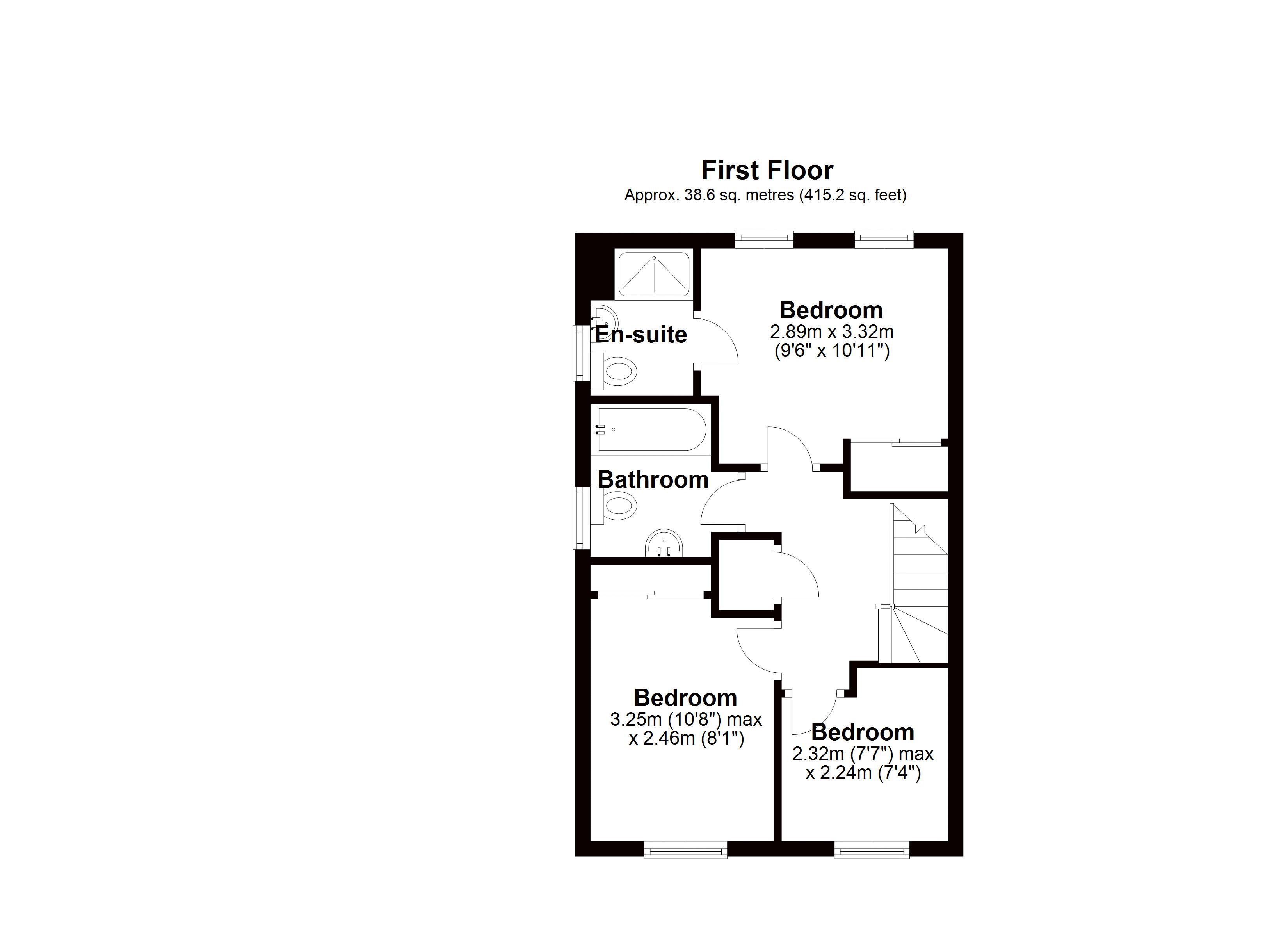 8 Wooding Drive First floor plan