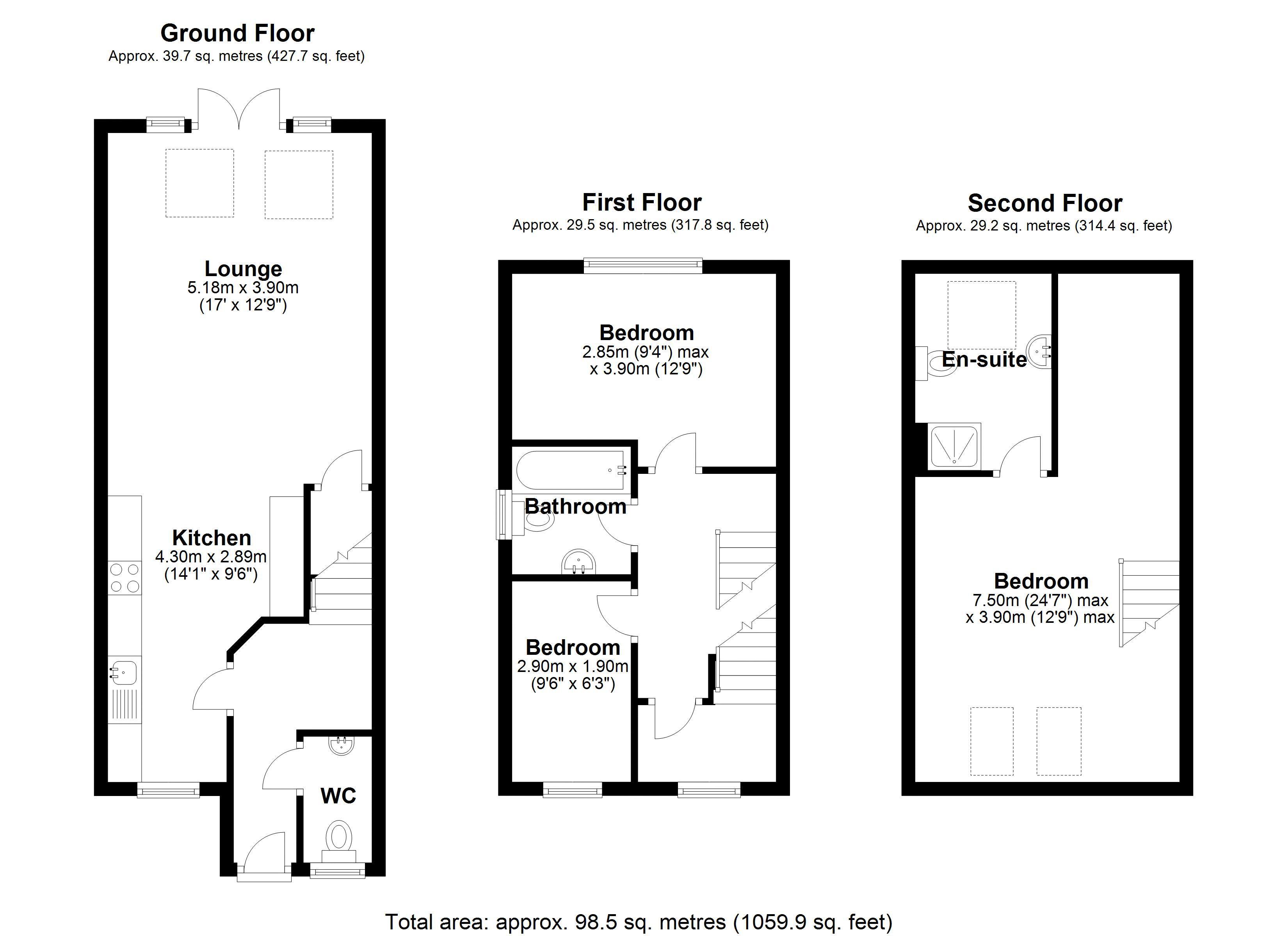 5 White Hart Main Floor Plan