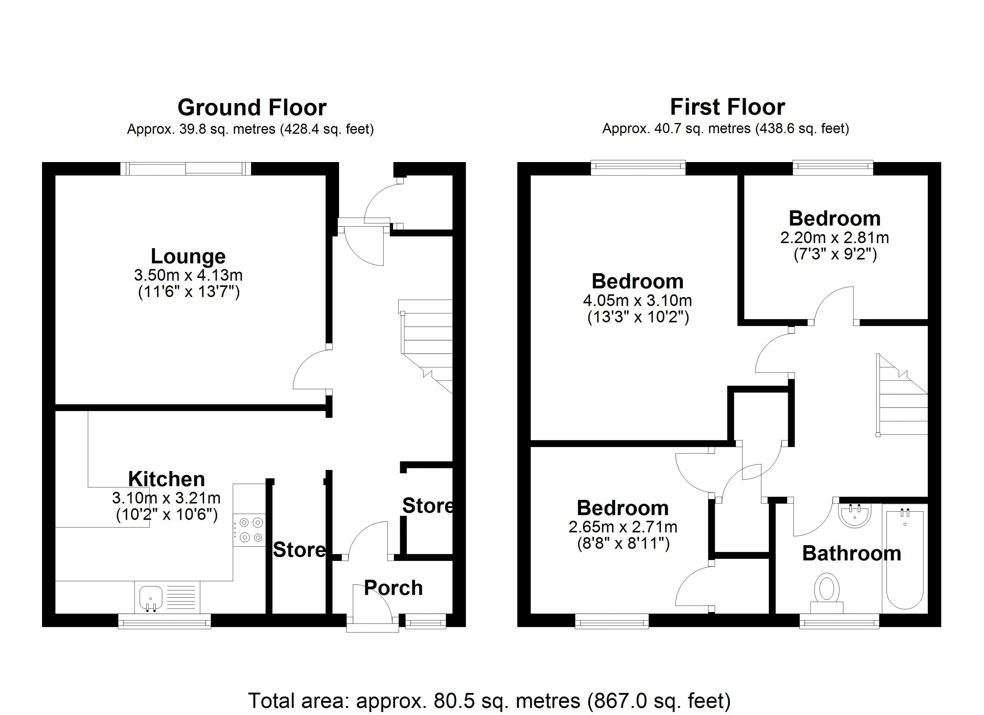 Bishopdale main floor plan