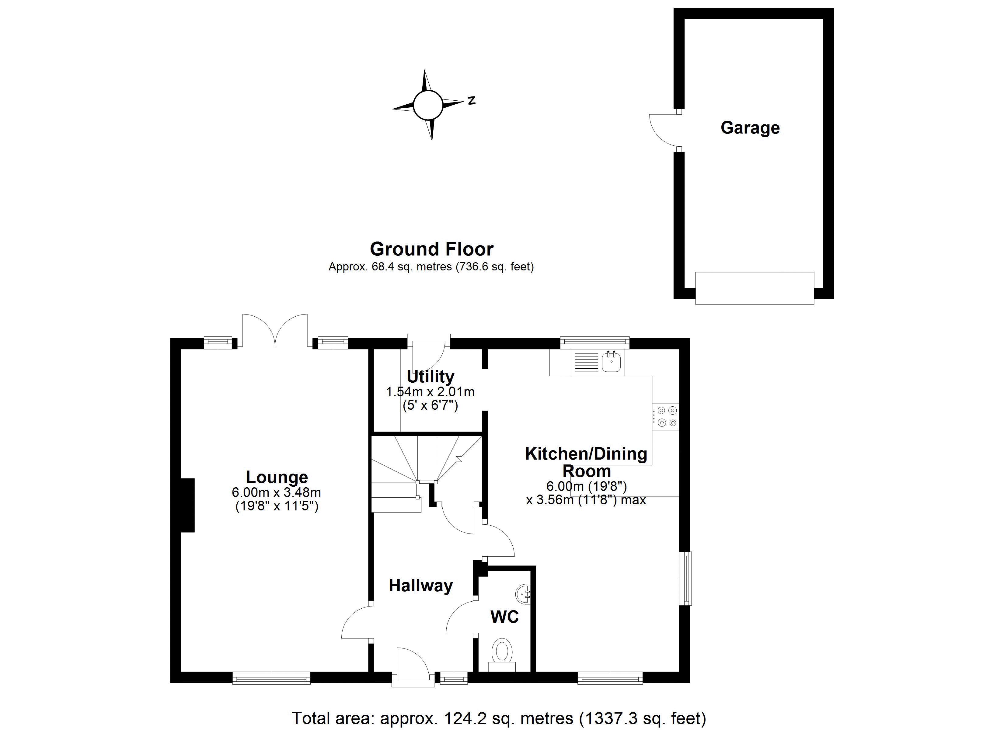 Beddall Way Ground floor plan