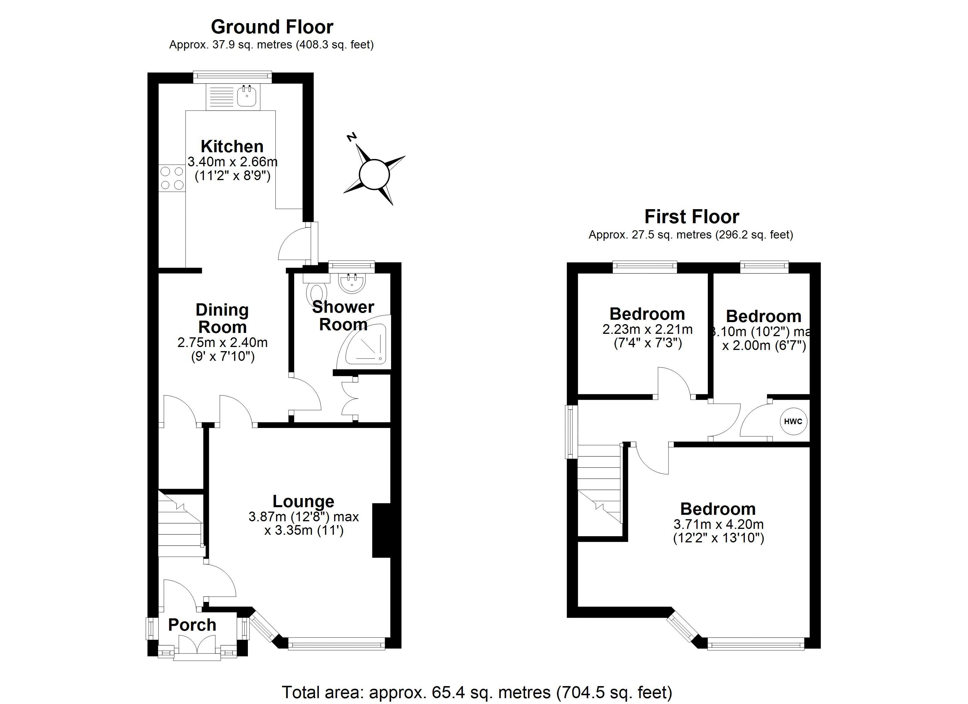 104 Roseway Main floor plan