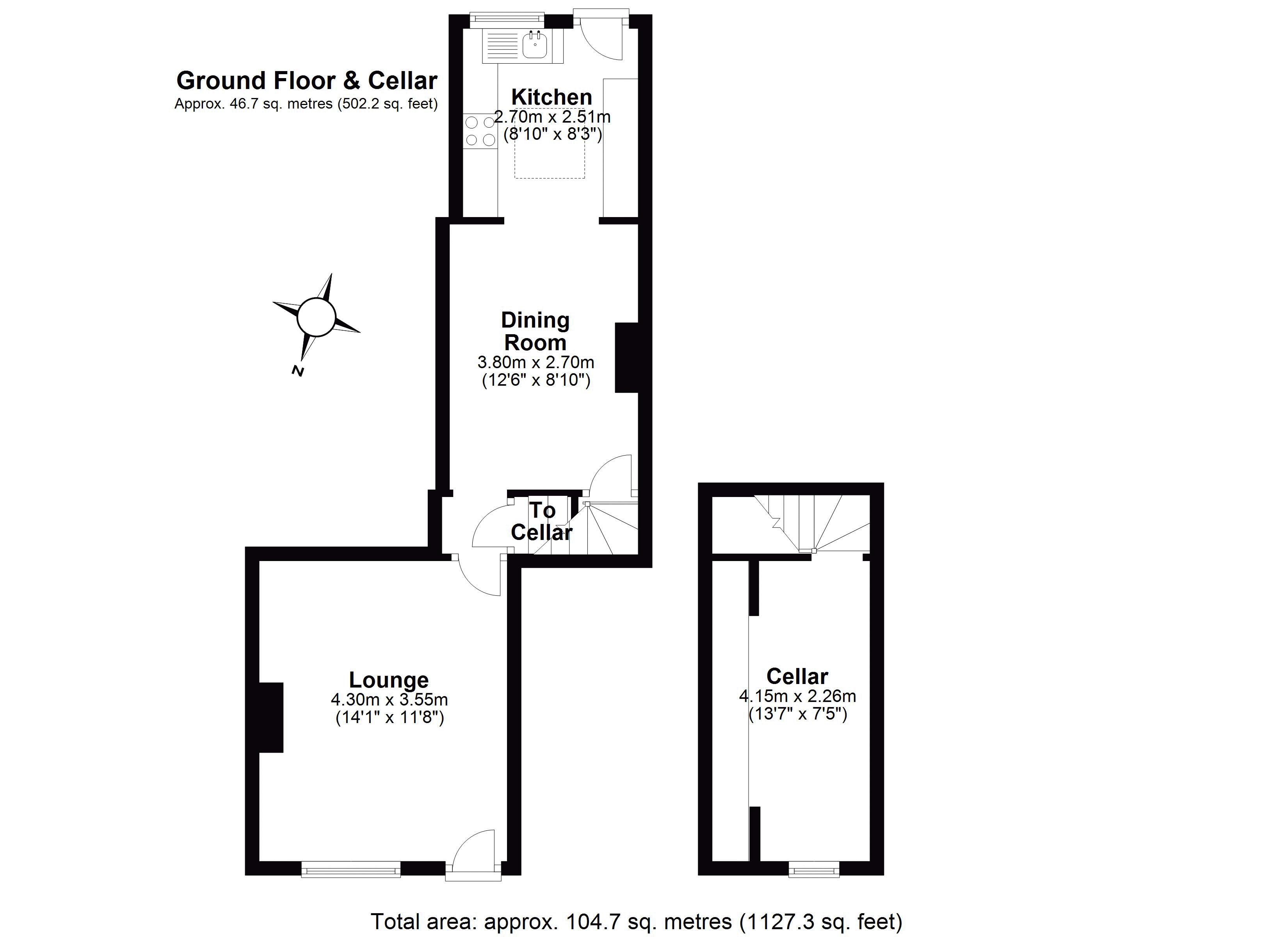 3 Station Road Ground Floor Plan