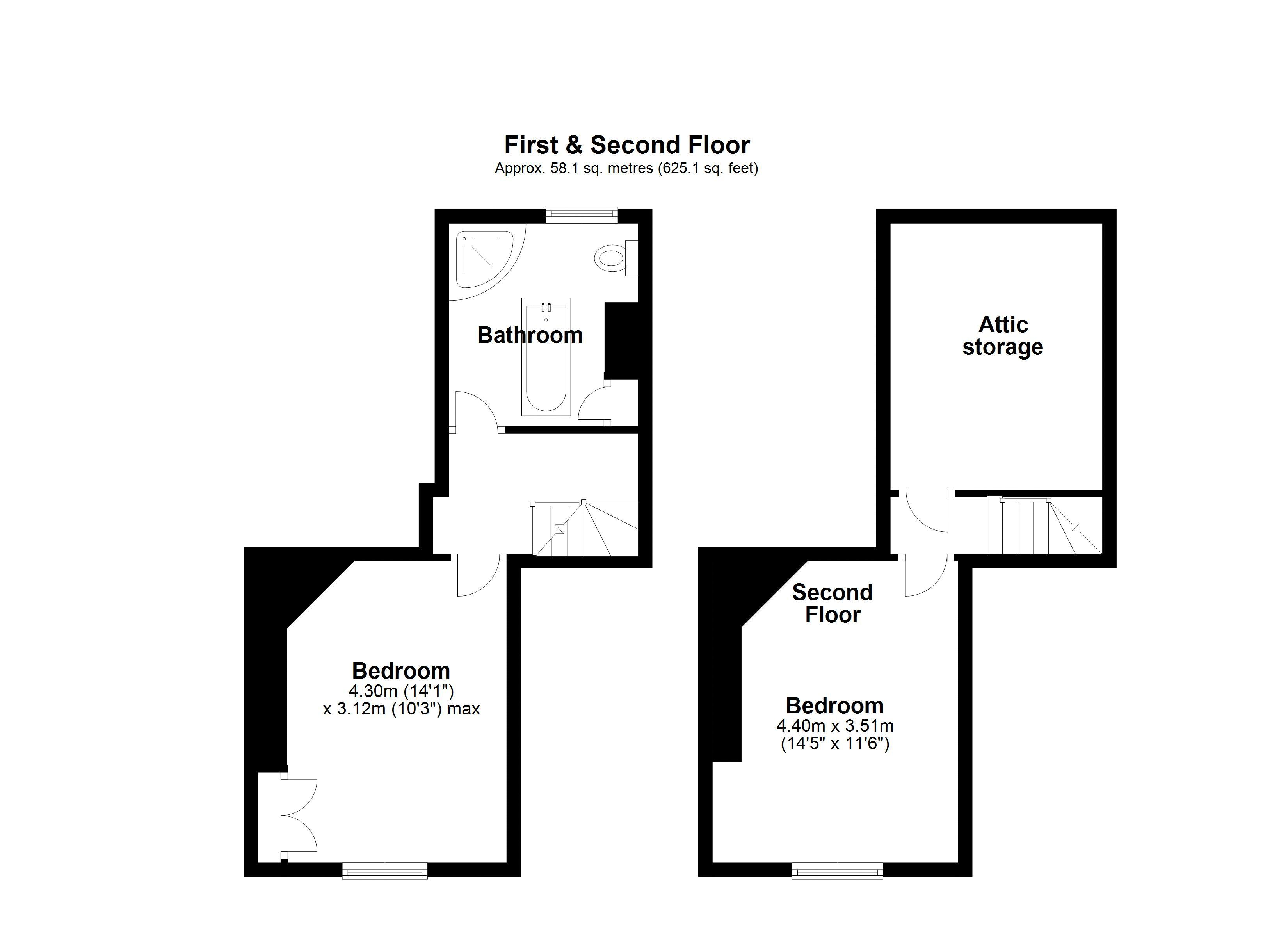3 Station Road First Floor Plan