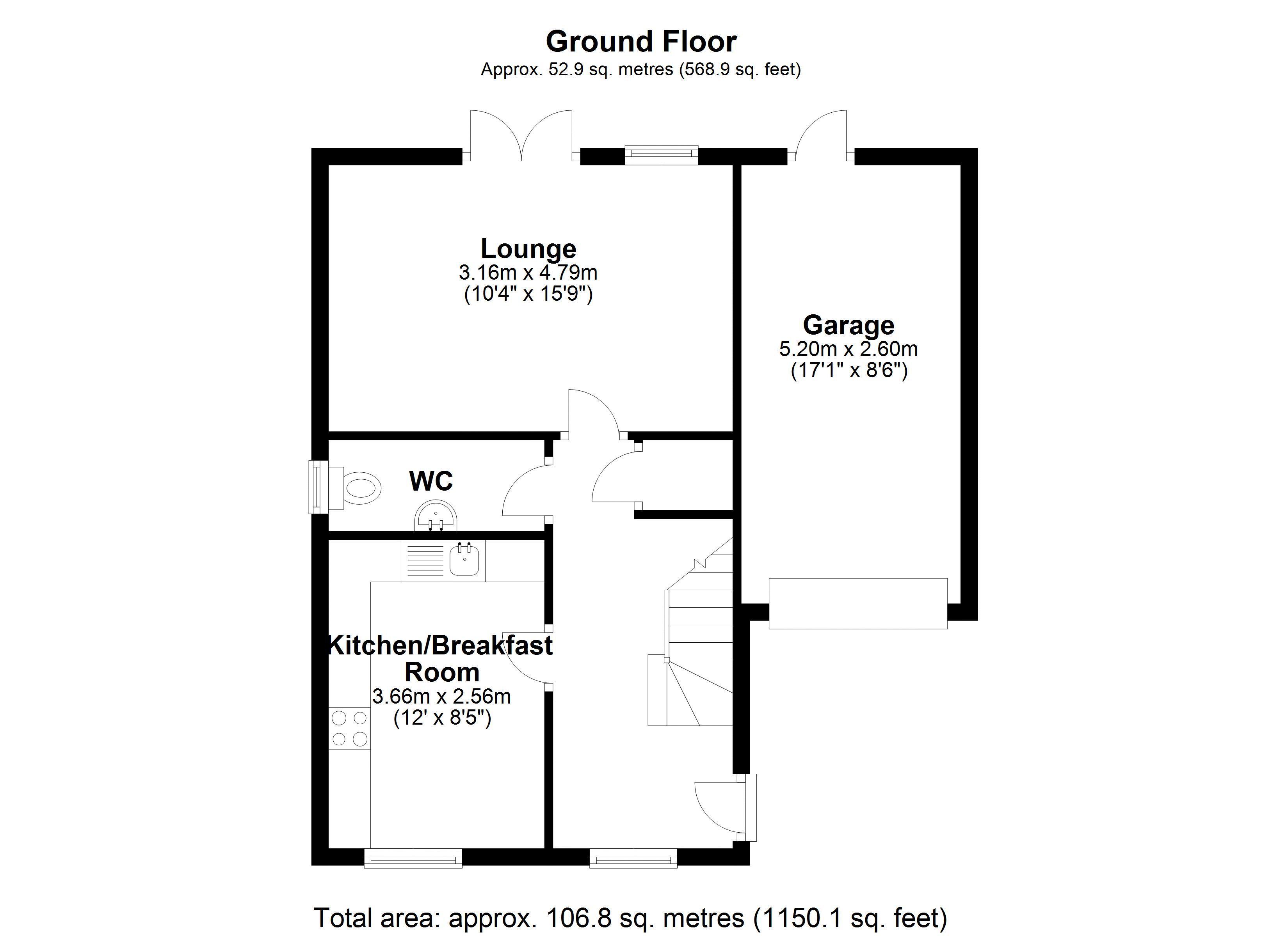 The Embers Ground floor plan