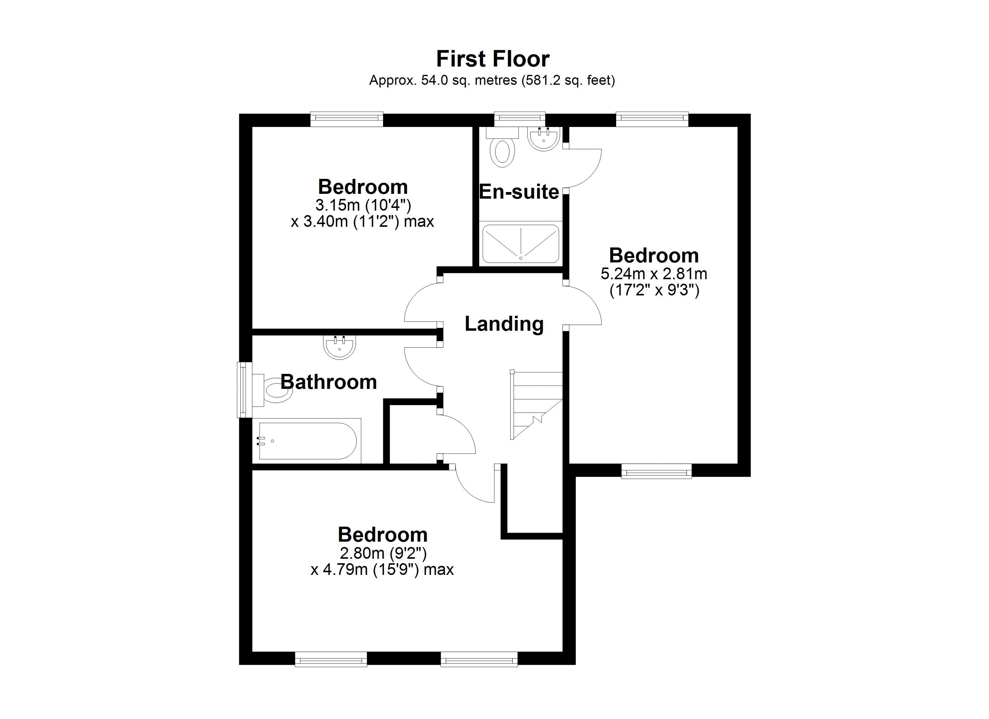 The Embers first floor plan