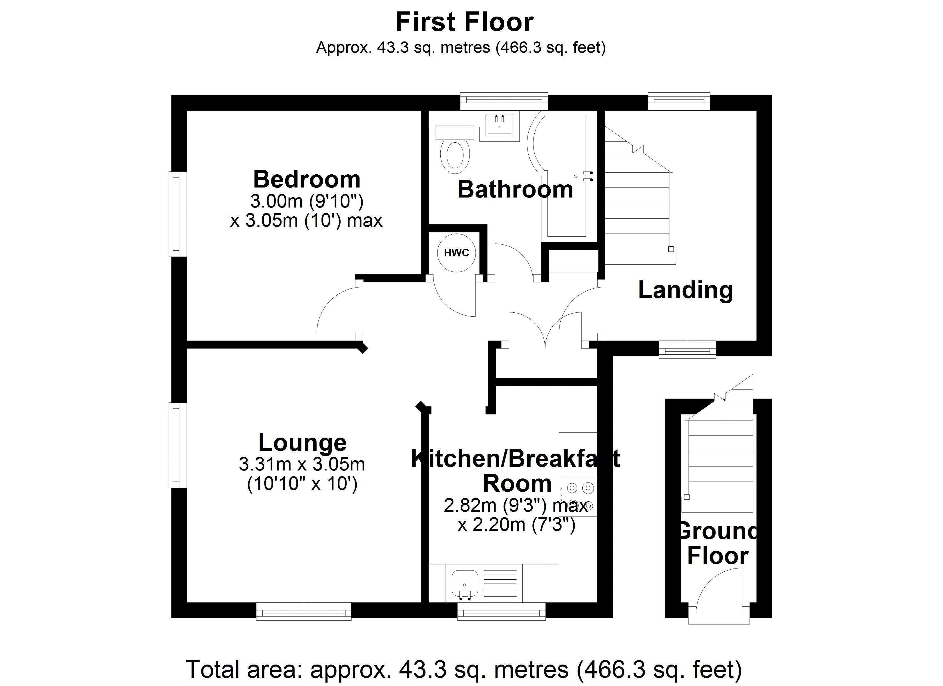 Bradley Court Floor Plan