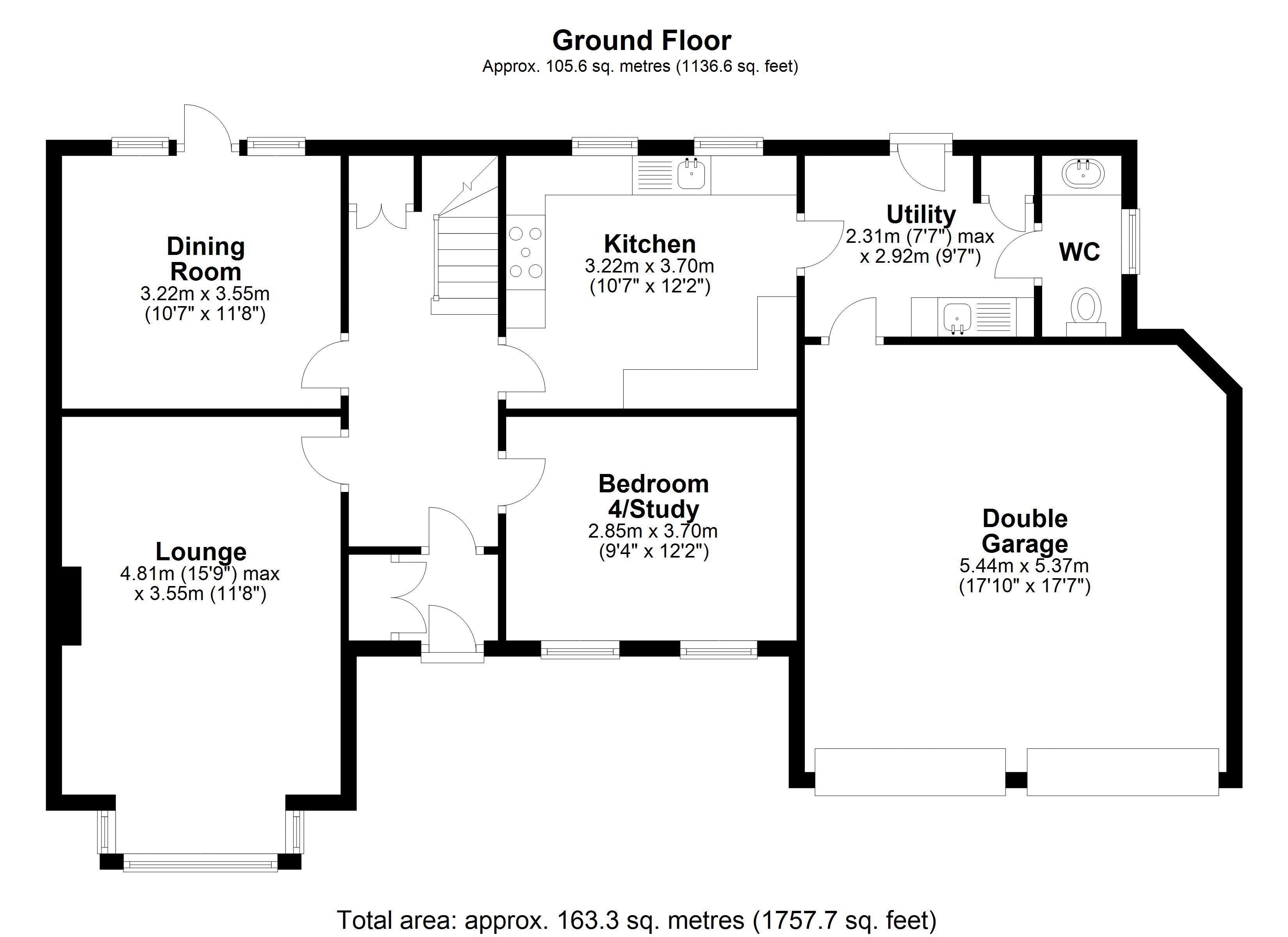 15 Hadley road Ground Floor Plan
