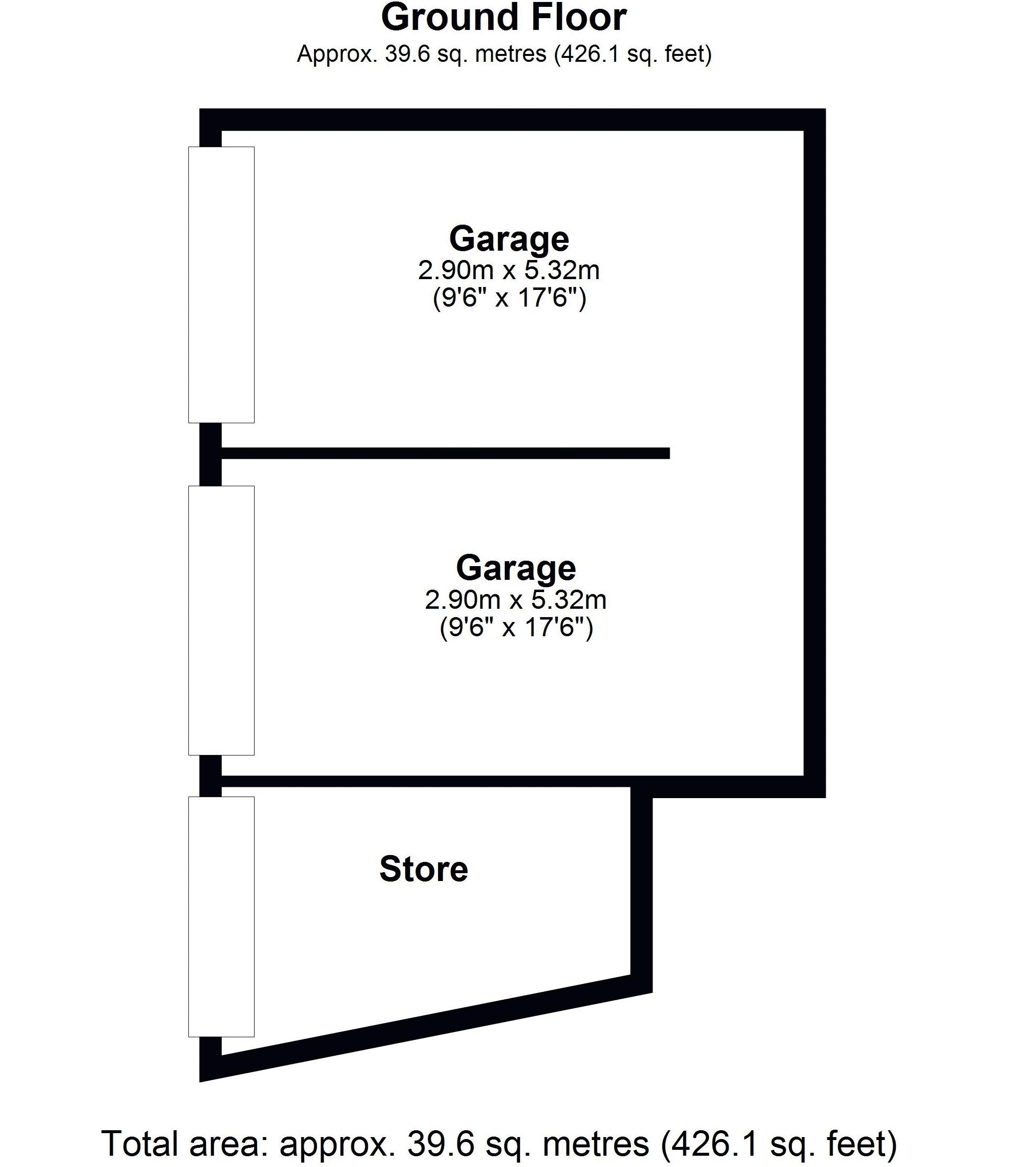 15 Hadley road Garage / Workshop Floor Plan