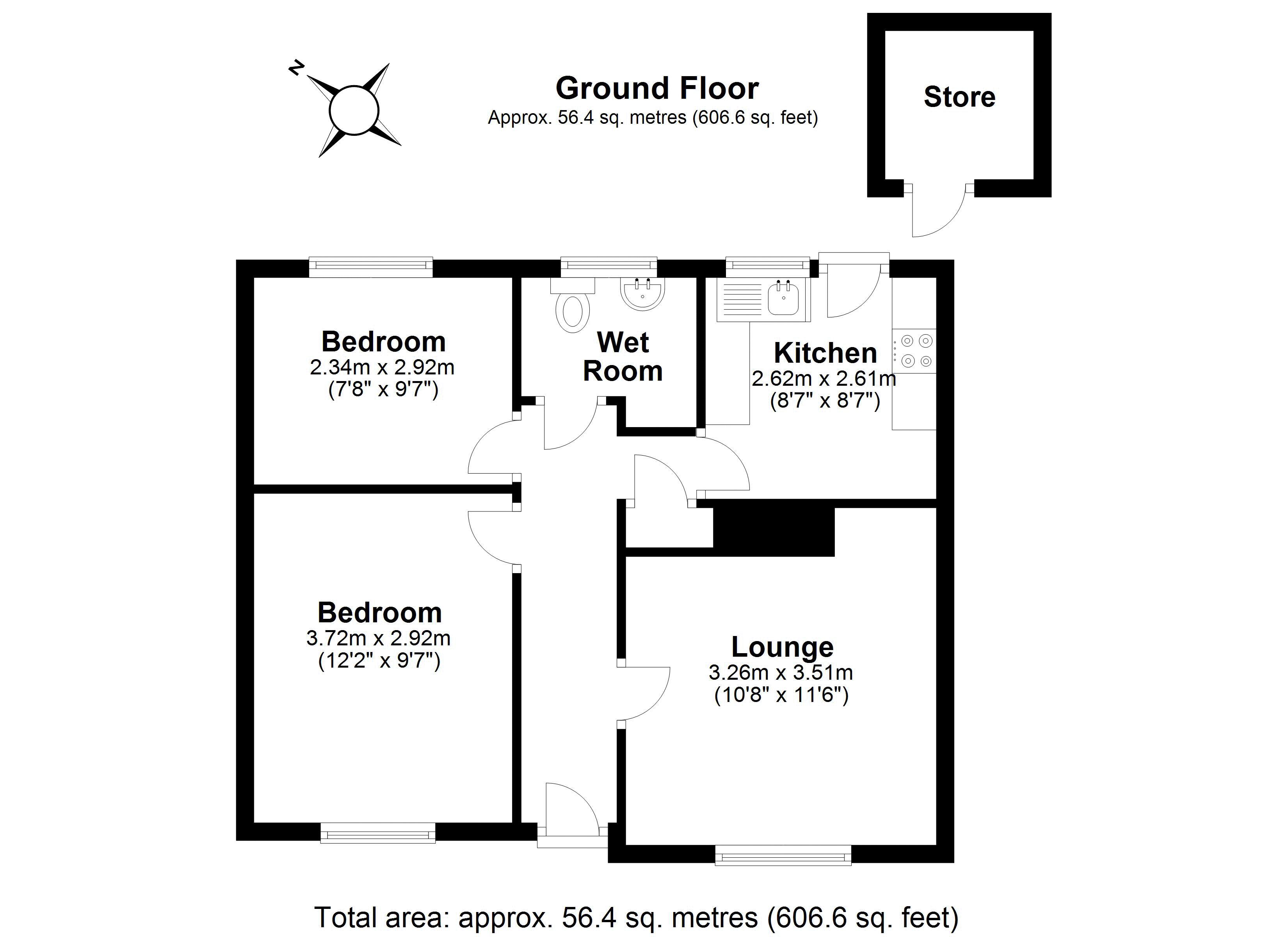 14a Charlton Street floor plan