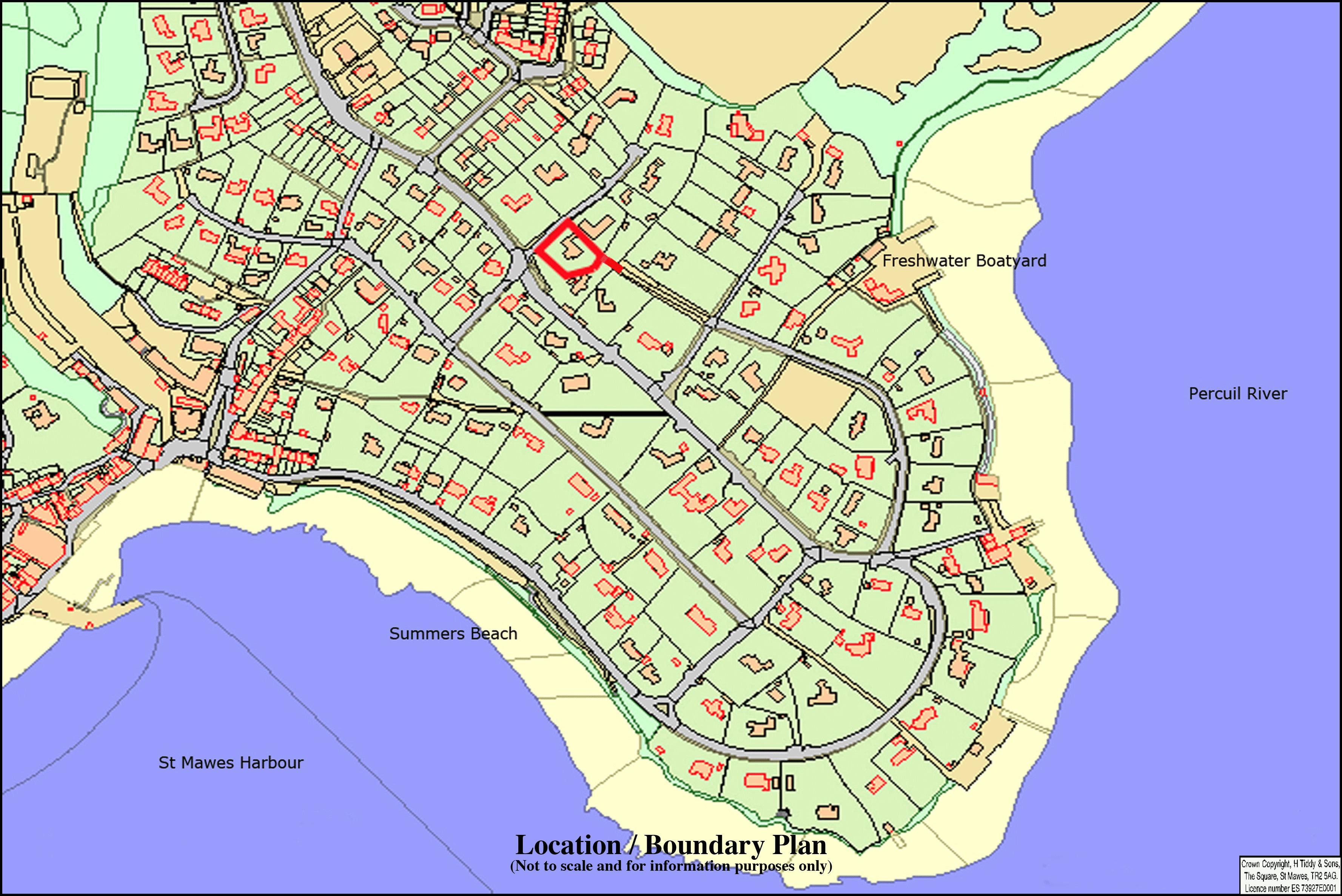 Boundary Location