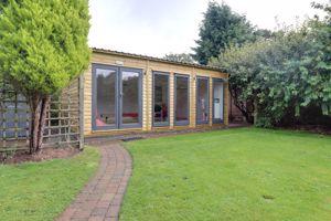 Rear Garden & Summer House