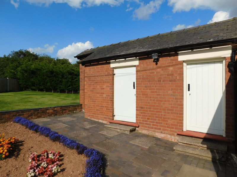Rear Patio / Outbuildings