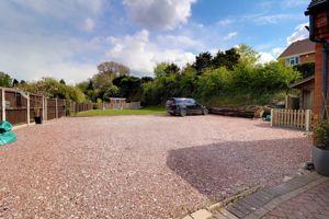 Driveway & Garden Area
