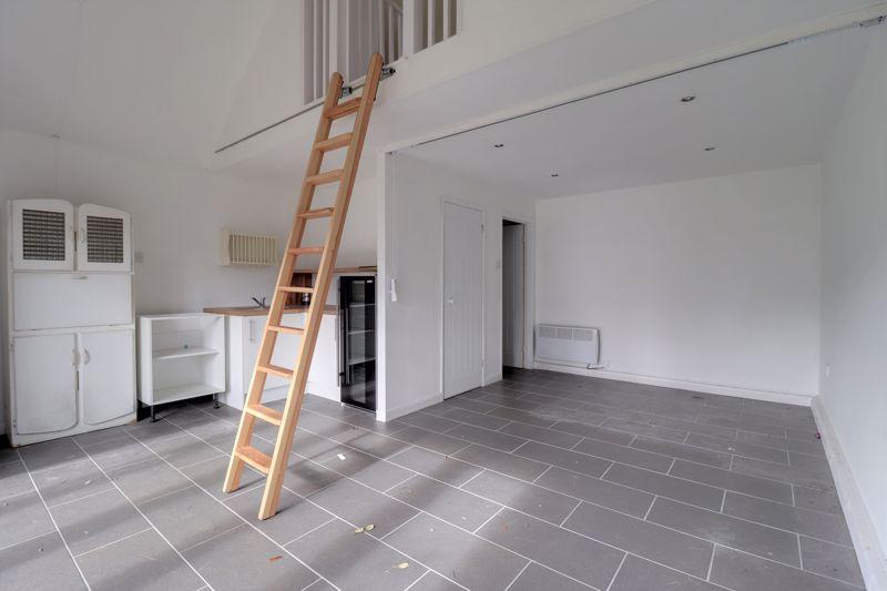 Annex lounge and kitchen