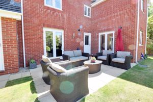 Paved Seating Area