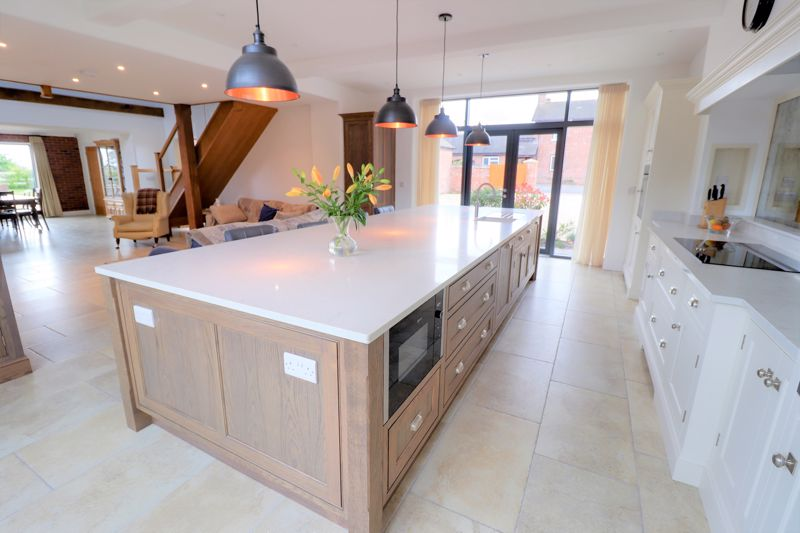 Stunning Kitchen through to Sitting Room and Dinin