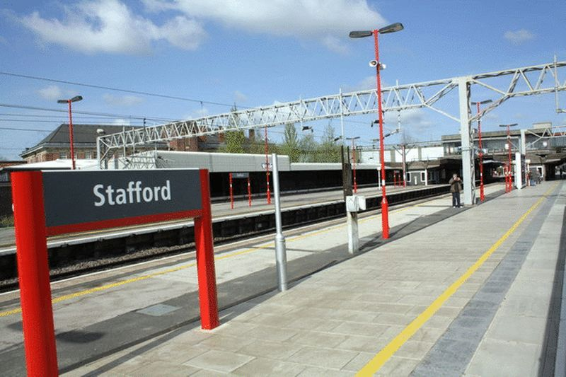 Stafford Mainline Railway Station
