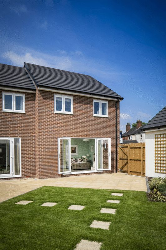 The Lawrence Show Home Rear Garden