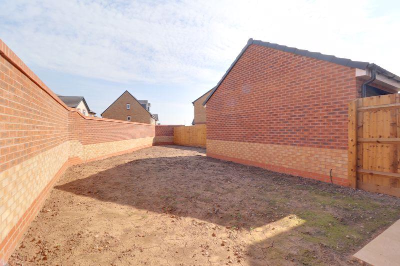 Walled Rear Garden