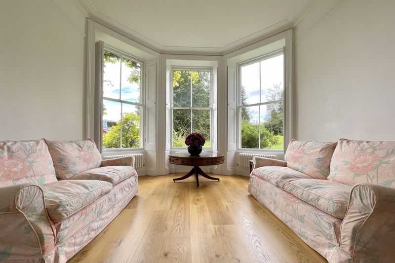 Bay window in sitting room