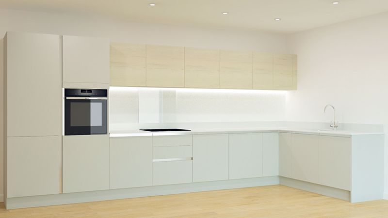 Kitchen Layout Apartment 28