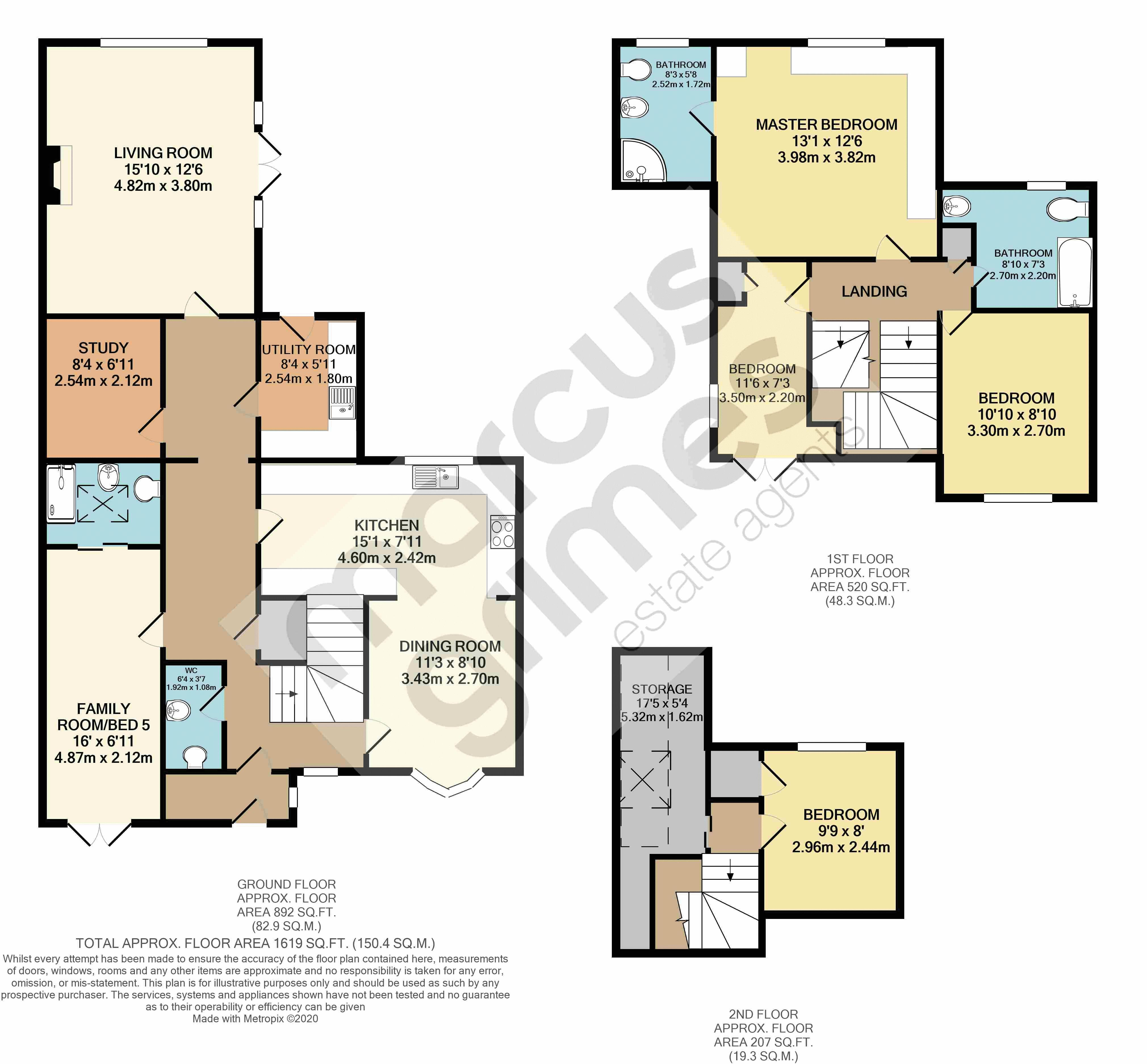 118 College Lane - Floor Plan