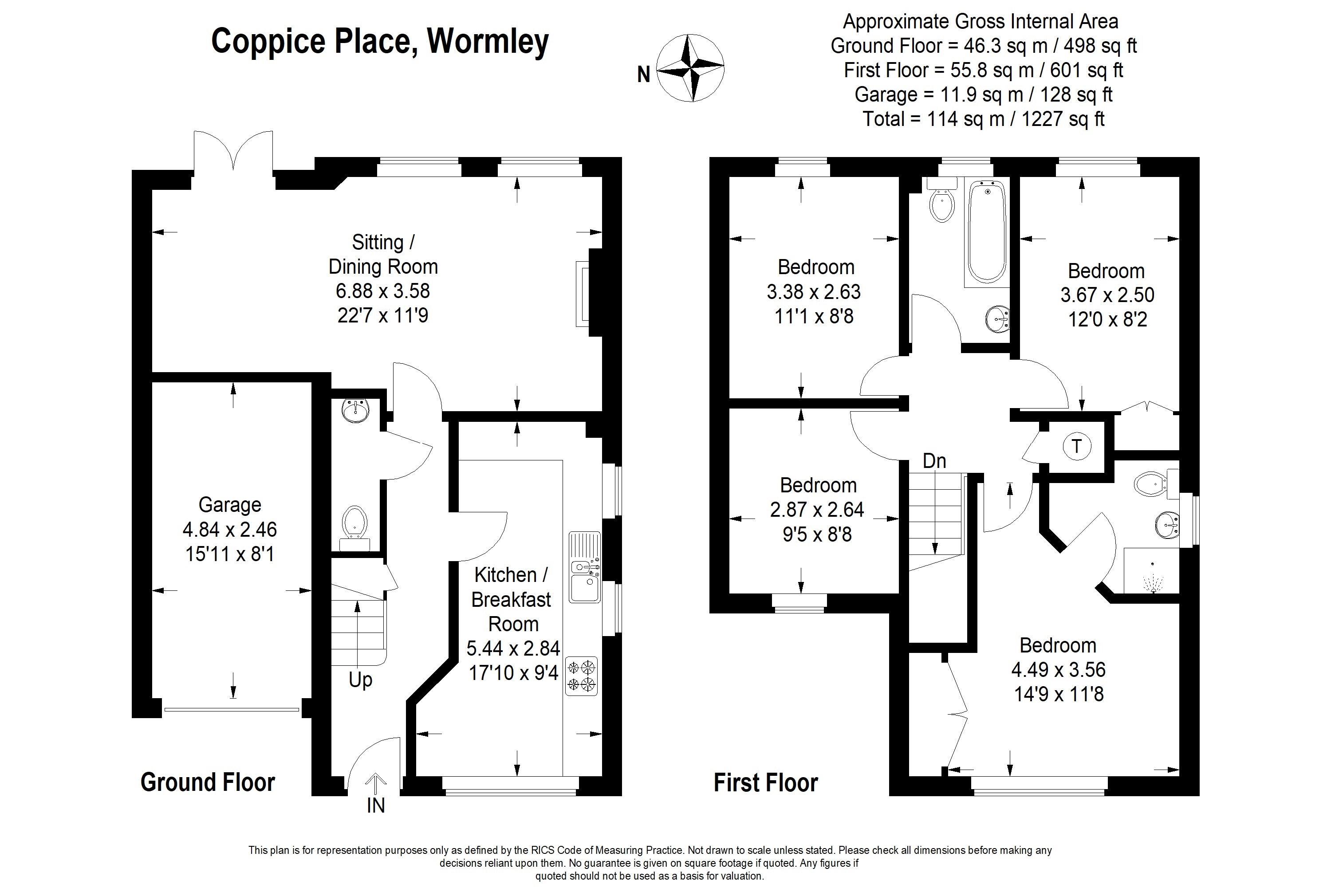 Coppice Place Wormley