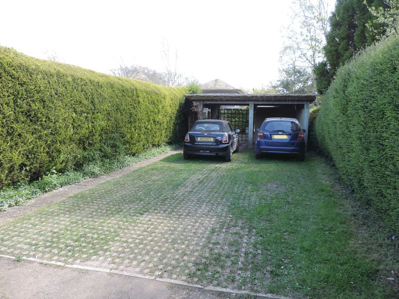 Parking Area Leading To Front Courtyard