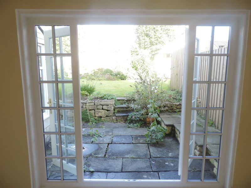 Patio Doors To Rear Garden