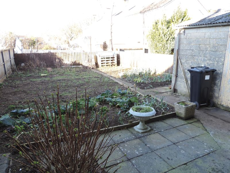 Rear Garden and Outbuilding