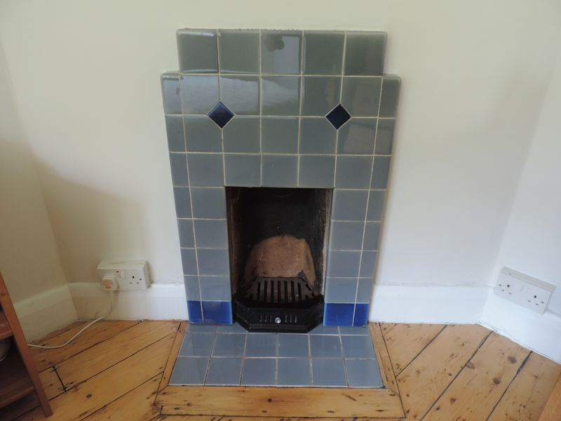 Period Fireplace in Bedroom