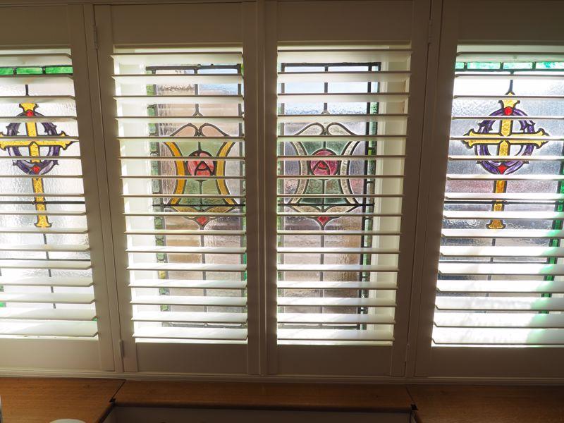Stain Glass Windows Bedroom 1