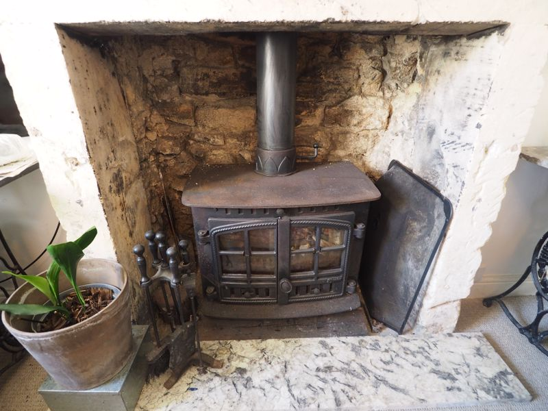 Stove in Lounge