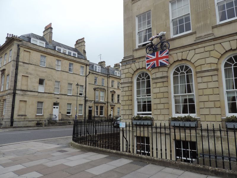 Great Pulteney Street Junction With Edward Street