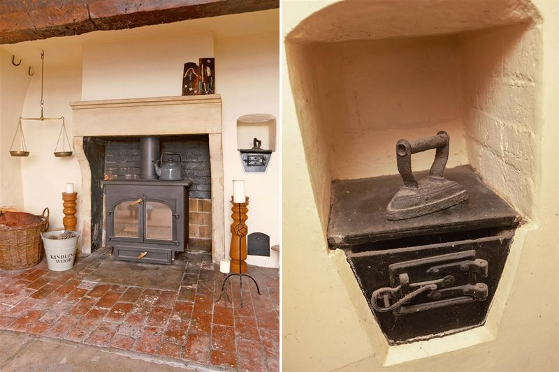 fireplace/bread oven