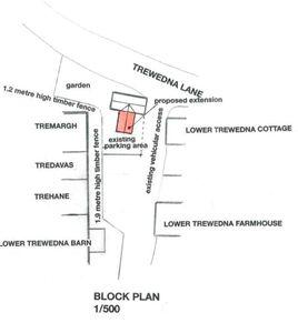 Trewedna Lane Perranwell Station
