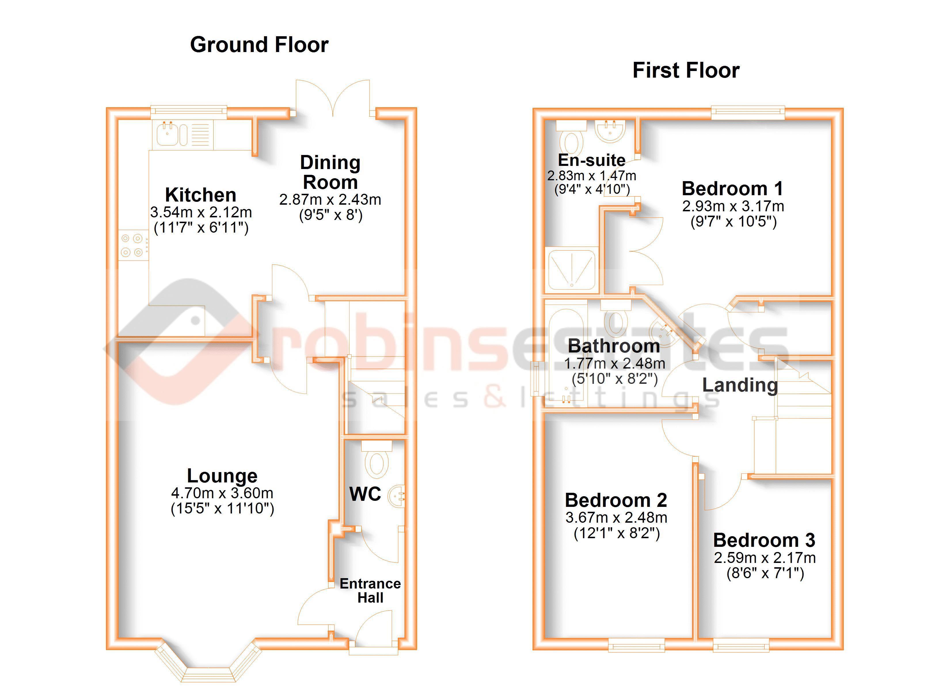 Haydn Road Floor Plan