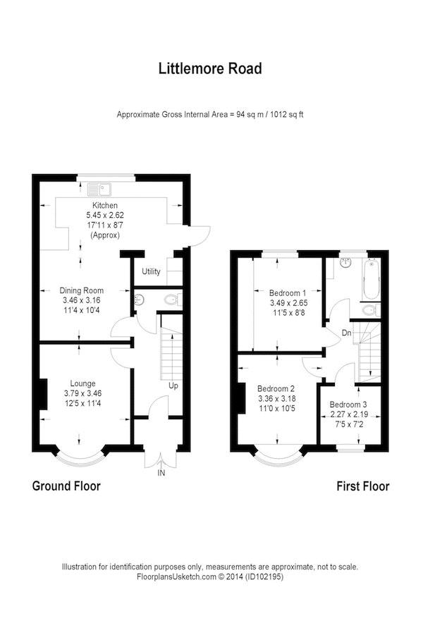 Littlemore Road - Floorplan