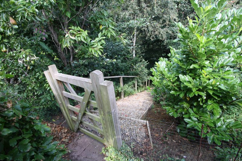 GATE & STEPS TO RIVER